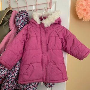 Old Navy 2T girls coat